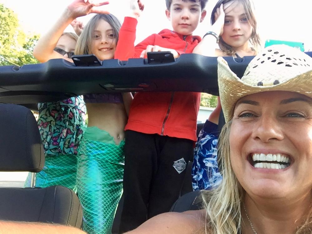 2019 Jeep Wrangler Sport - Hella Yella - Daisy Duke Inspired - Fun with Grandkids!