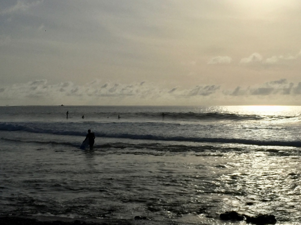 Maldives - Morning Surfers