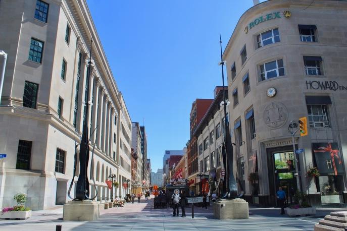 Downtown - Ottawa, Ontario, Canada - Sparks Street