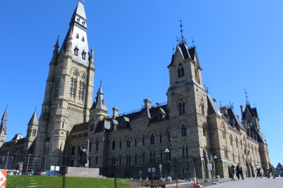 Parliament Hill, Ottawa, Ontario - West Block