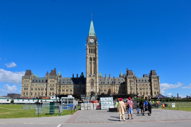 Parliament Hill, Ottawa, Ontario - Centre Block