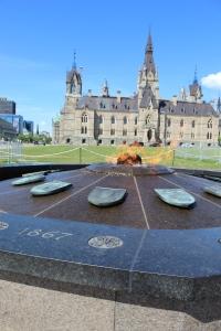 Parliament Hill, Ottawa, Ontario - Centennial Flame