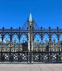 Parliament Hill, Ottawa, Ontario - Gate