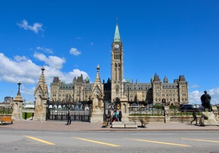 Parliament Hill, Ottawa, Canada - Centre Block