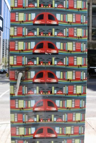 Downtown - Ottawa, Ontario, Canada - Painted Mail Box