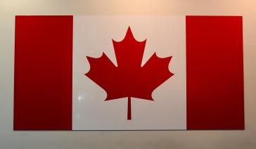 Downtown - Ottawa, Ontario, Canada - Canadian Flag Proud!