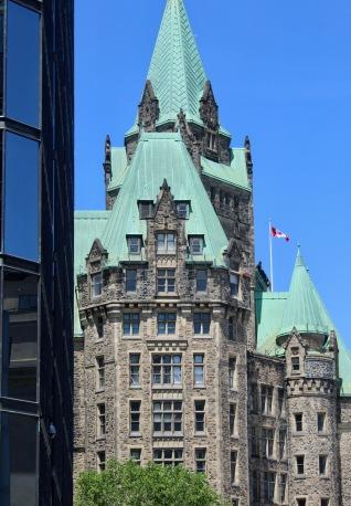 Downtown - Ottawa, Ontario, Canada - Canadian Flag