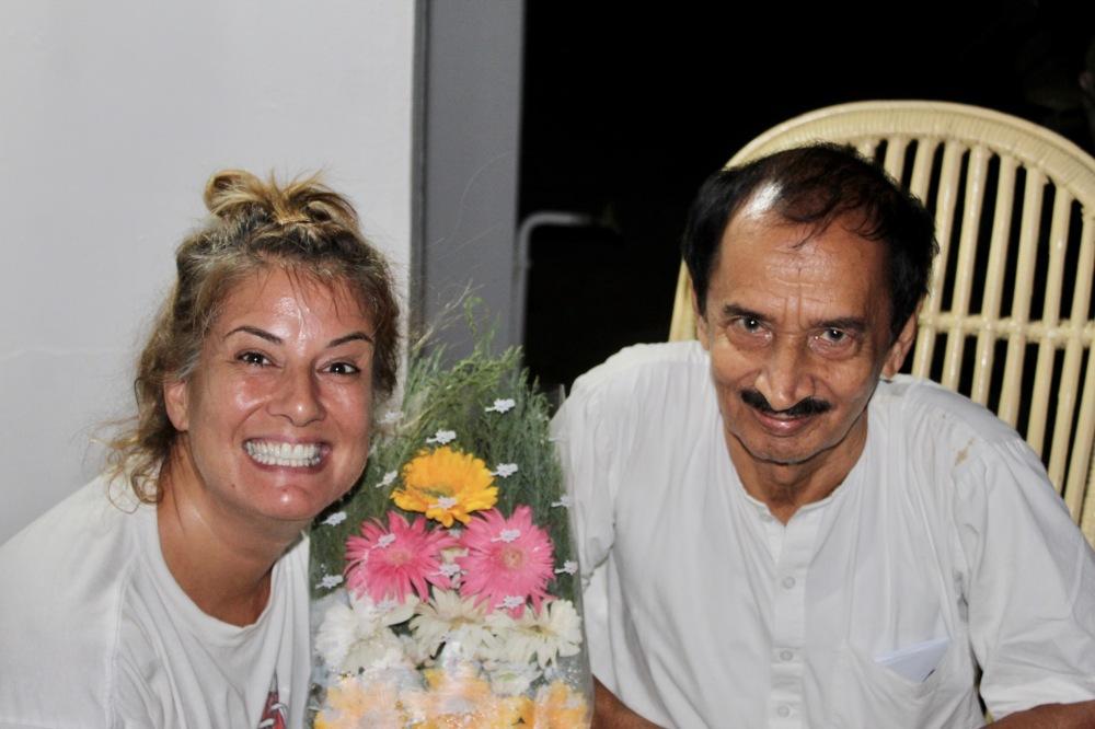 April 25th, 2019 - My 50th Birthday - Flowers from Dr. Raj!