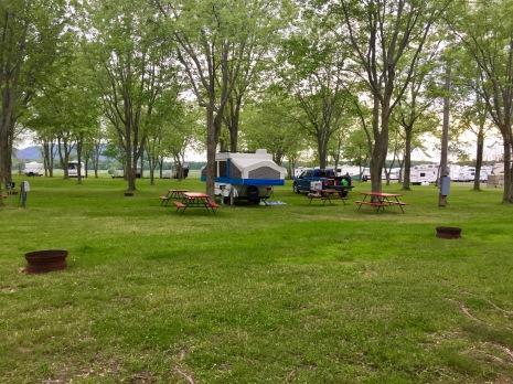 2019 - Sainte-Madeleine, Quebec - Camping Ste-Madeleine RV Park - Overflow Area