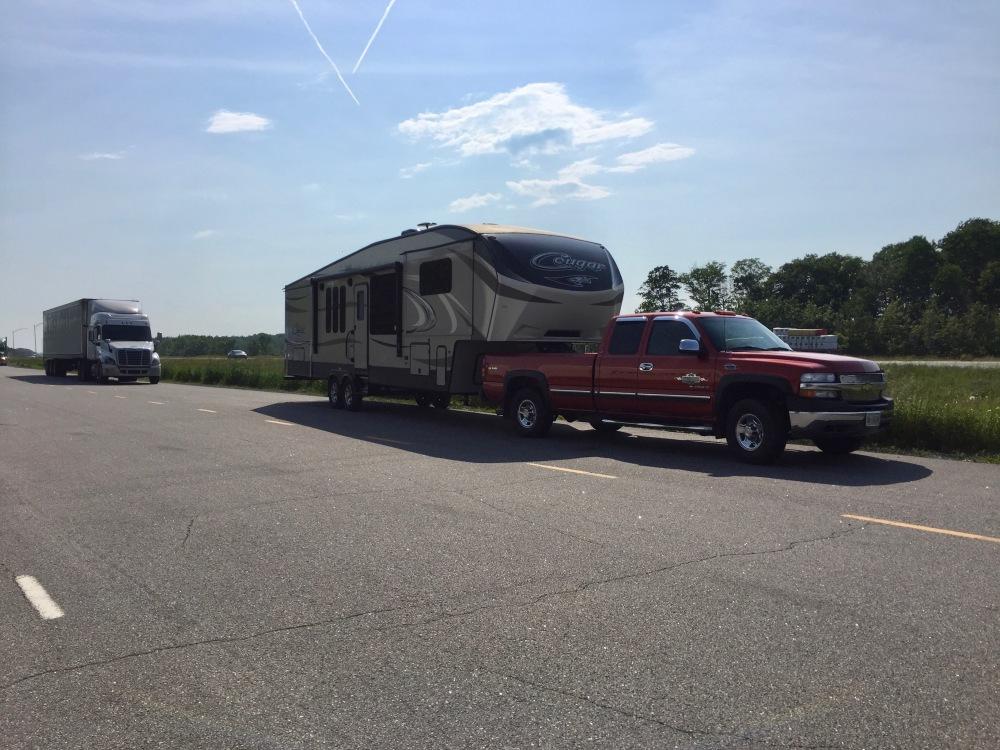 On the road again! Quebec to Nova Scotia!