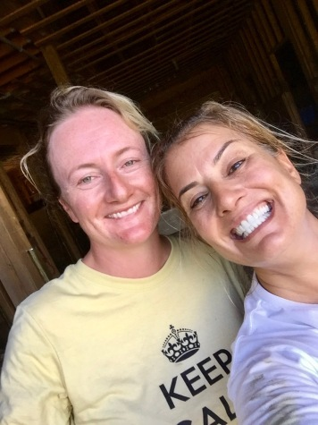 2019 - Liz and me - Horses!