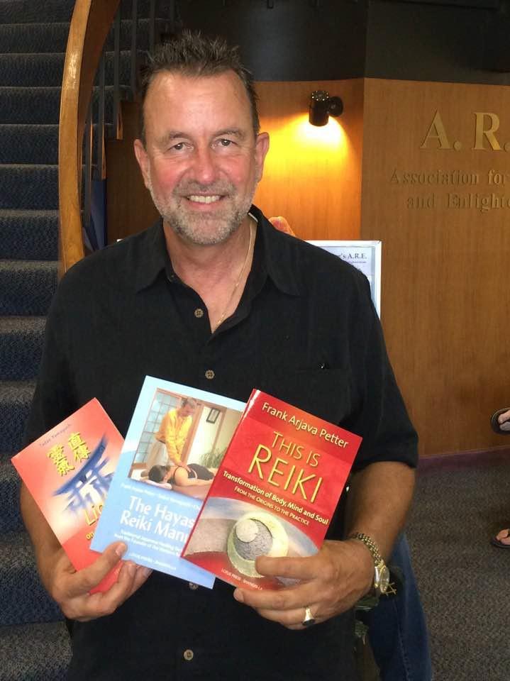 Reiki Master Teacher Frank Arjava Petter of Usui Reiki Ryoho