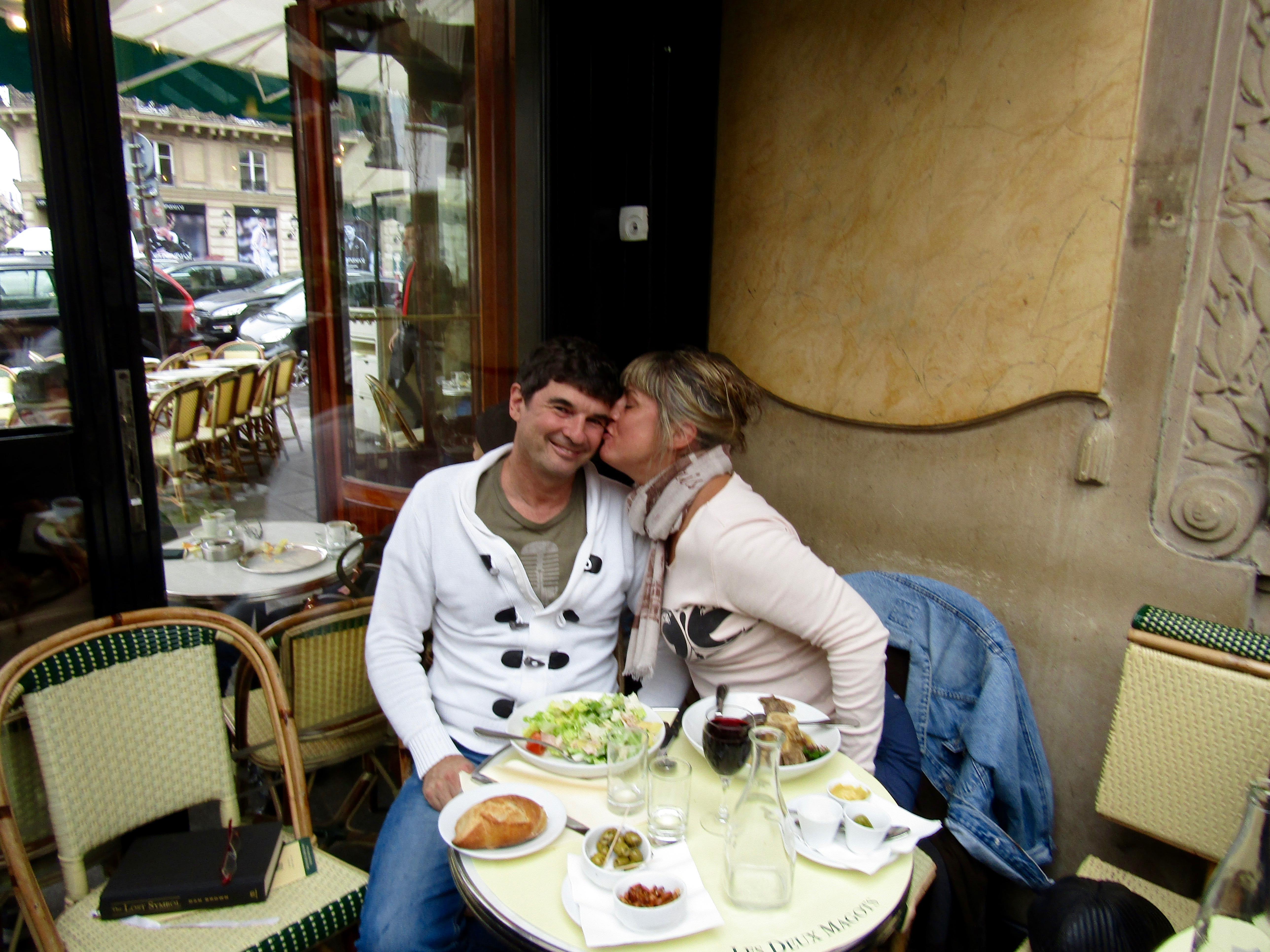Spring - 2016 - Paris, France - Les Duex Magots Restaurant - Love Paris!!!!!!!!