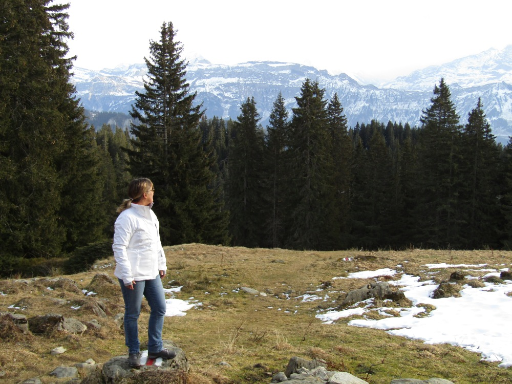 December - 2016 - Beatenburg, Switzerland - Hiking
