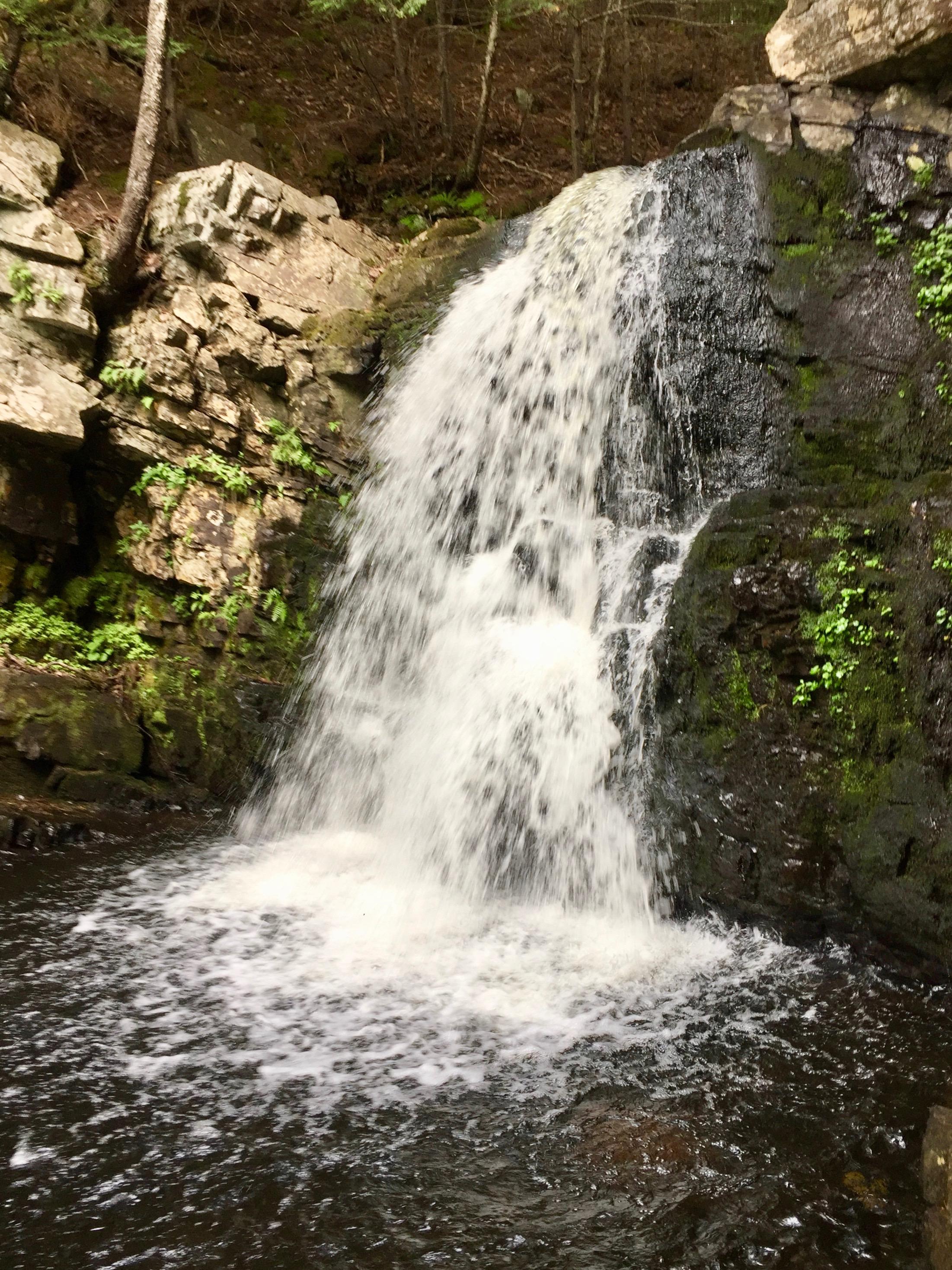Ettinger Falls, Three Mile Plains, Nova Scotia - Ettinger Falls