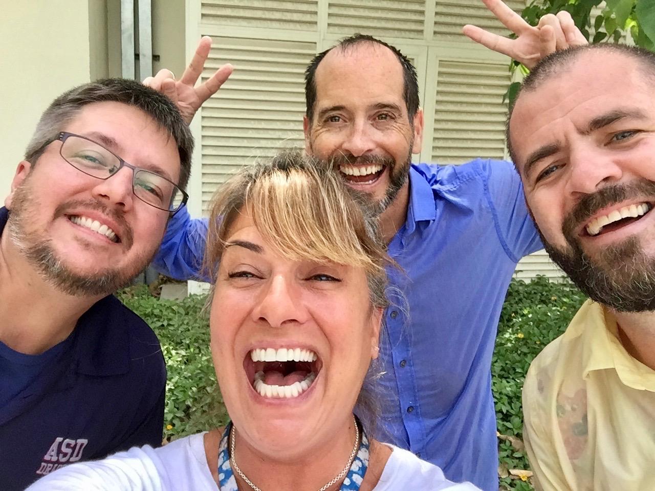 2018 - Qatar - ASD - Three of the most inspiring educators I know - Nick, Geoff and Riley!!!!!!