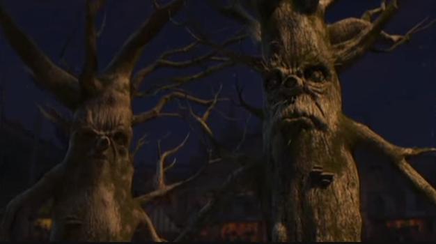 Trees from Shrek 2