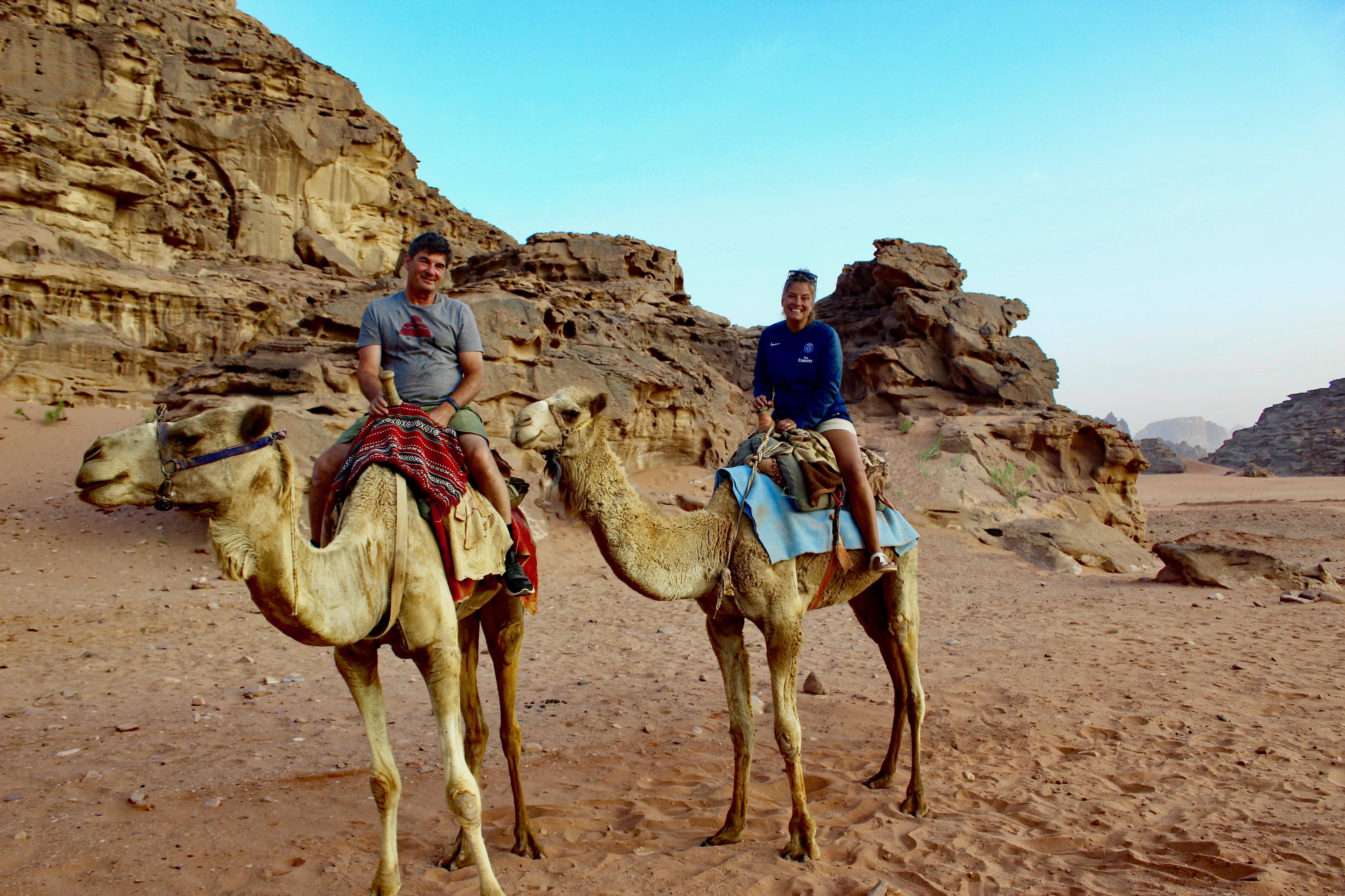 2019 - Jordan - Wadi Rum - Camel Trek