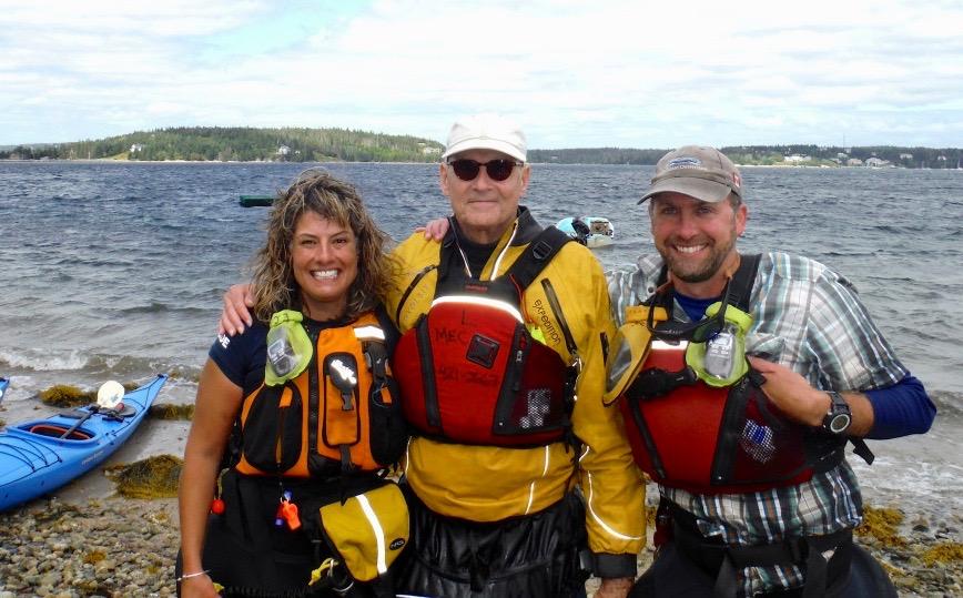2015 - Seabright, Nova Scotia - Me, James Taylor and Dave Adler