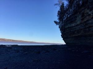 2019 - Blue Beach, Hantsport, Nova Scotia - Cliffs of Blue Beach