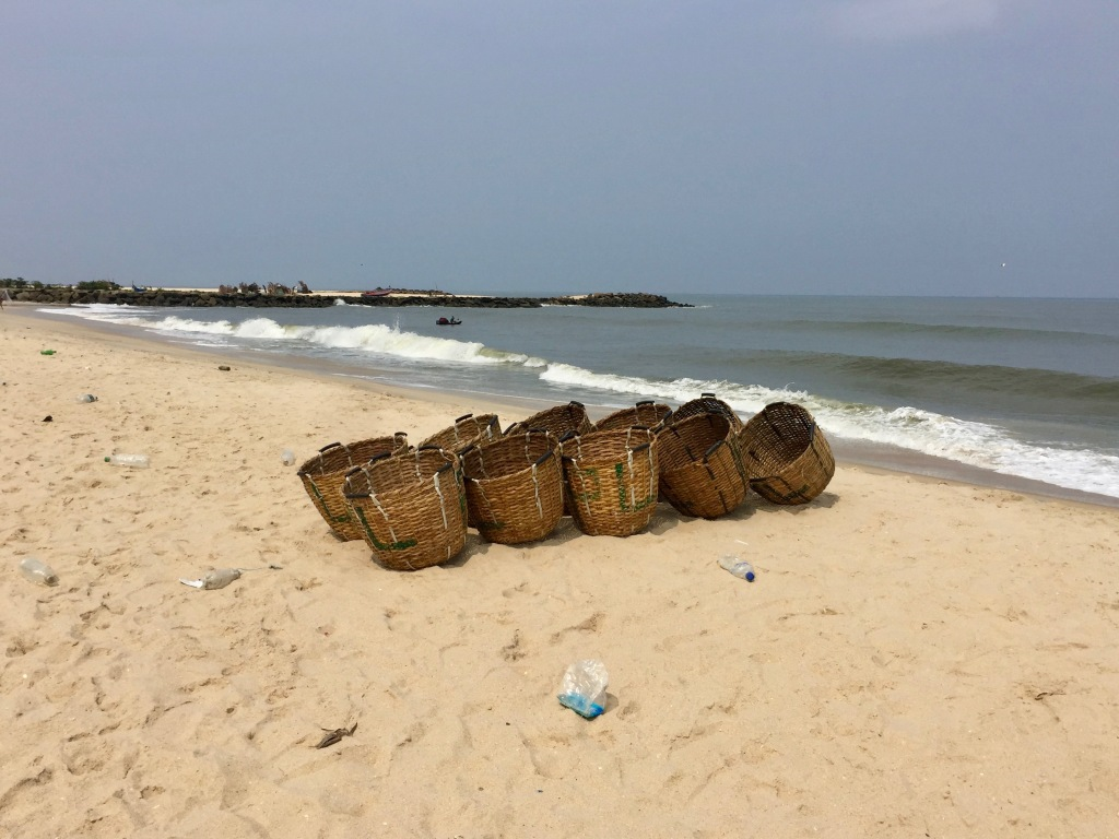 2019 - Mararikulam North, a small coastal fishing village in the southern state of Kerala, India
