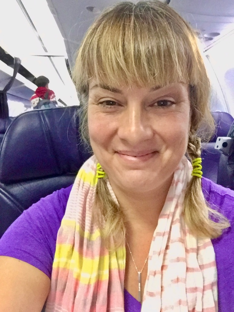 2019 - Christmas Break - Upgraded to Business Class - Air Mexico! Front row, aisle seat! Woo hoo!!!!