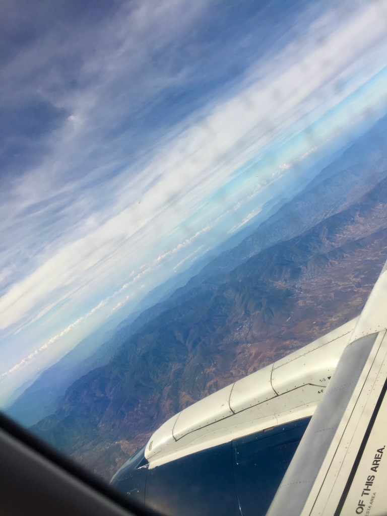 2019 - Air Mexico - Flying from Mexico City to Huatulco