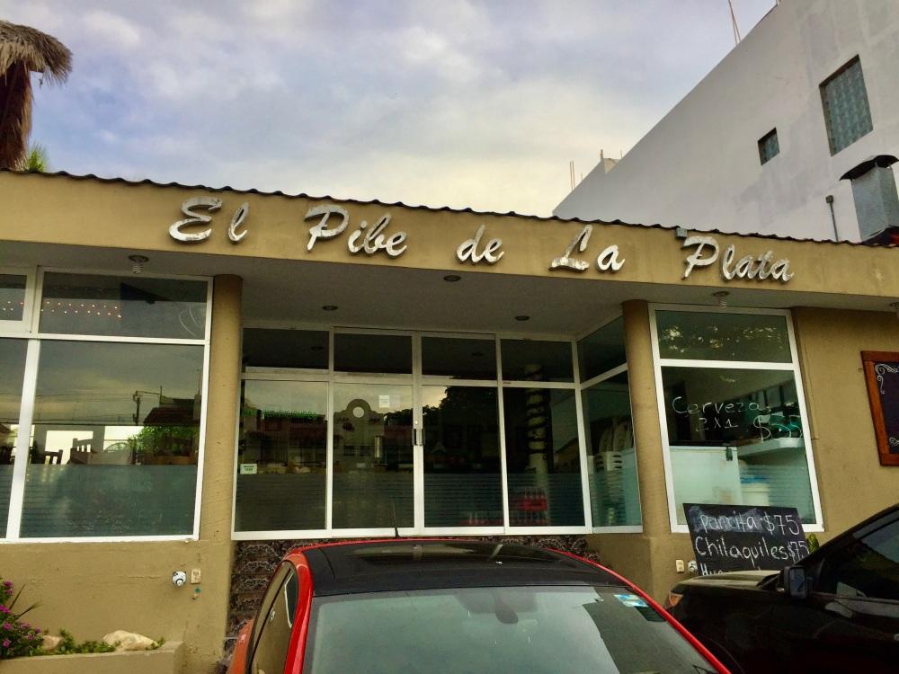 2019 - Chahué Bay - El Pibe de La Plata restaurant