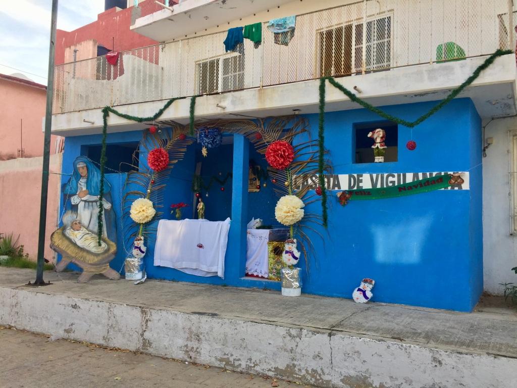 2019 - December - La Crucecita, Huatulco, Mexico - The brightly colored neighborhood!