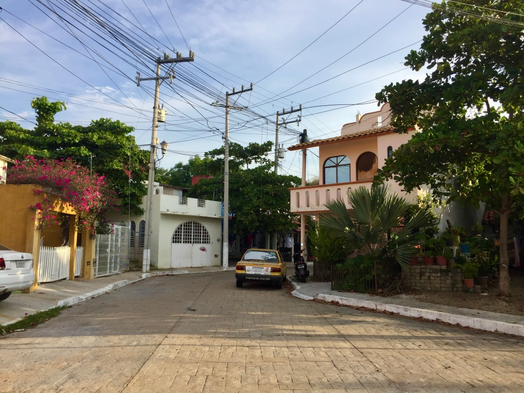 2019 - December - La Crucecita, Huatulco, Mexico - The brightly colored neighborhood!