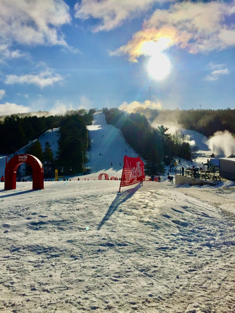 2020 - January - Ski Martock - Saturday morning