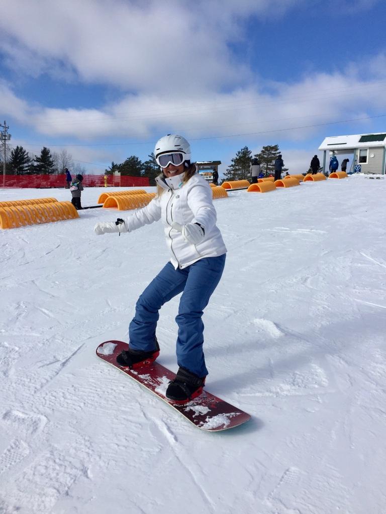 2020 - January - Ski Martock - Heel-edge zig-zag