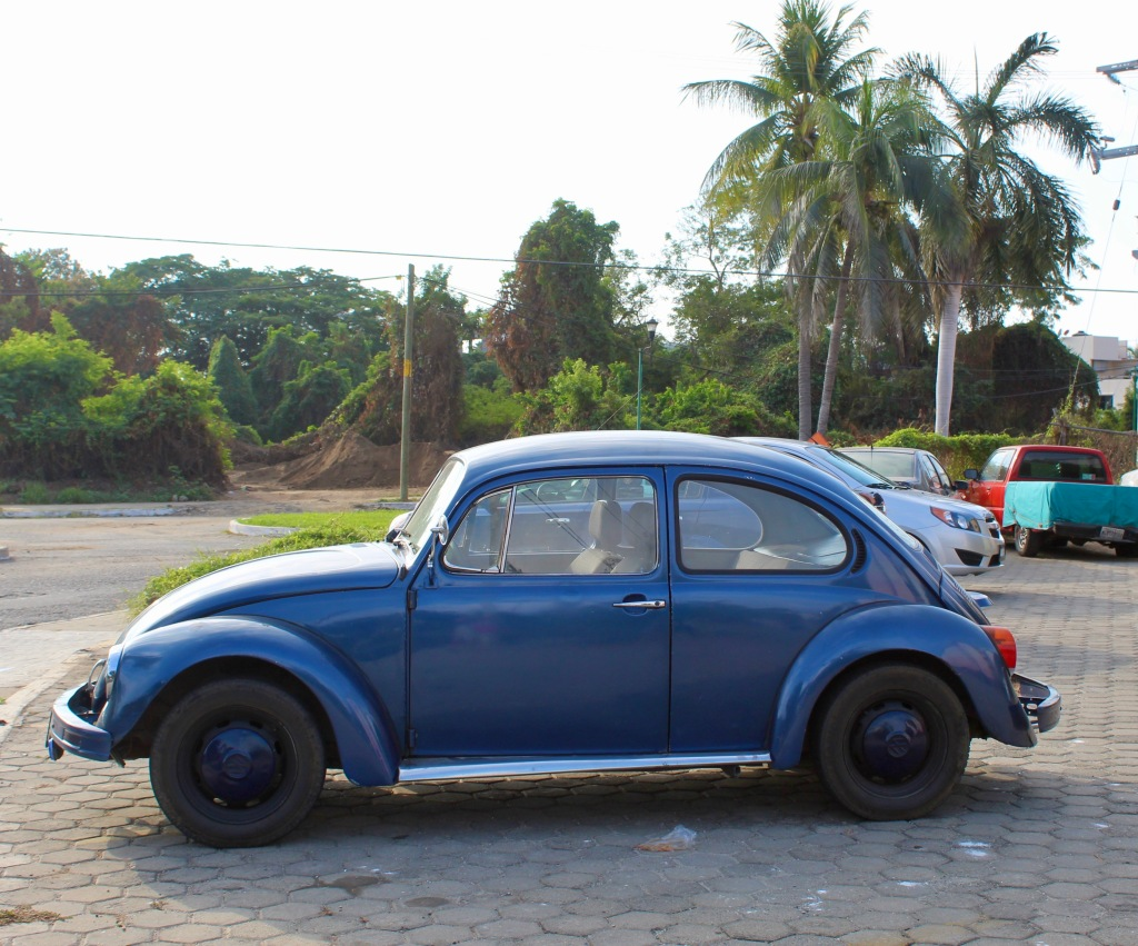 2019 - December - La Crucecita, Huatulco, Mexico - There were MANY classic Volkswagen Bugs populating this area!