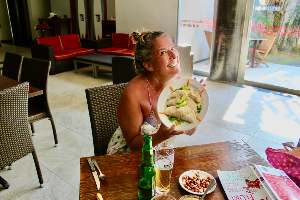 2019 - Chahué Bay, Huatulco, Mexico - Tomas Beach Huatulco - Joyful Stephanie - This, THIS was my order, NOT the bread!!!!
