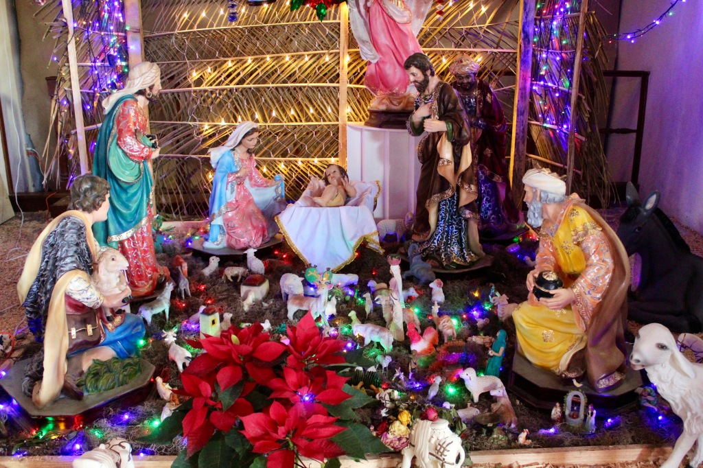 2019 - New Year's Eve - Huatulco, Mexico - La Crucecita - Parish of Our Lady of Guadalupe - The Nativity Scene