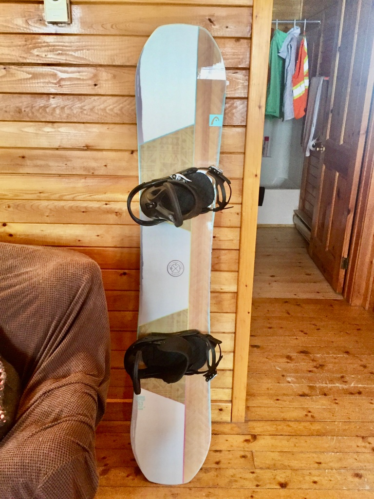 HEAD SHINE SNOWBOARD - WOMEN'S 2018 - My new snowboard!!!