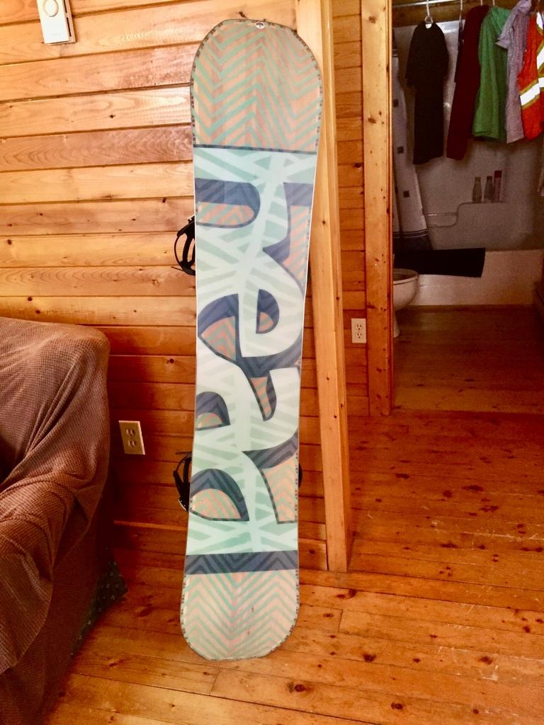 HEAD SHINE SNOWBOARD - WOMEN'S 2018 - My new snowboard!!!