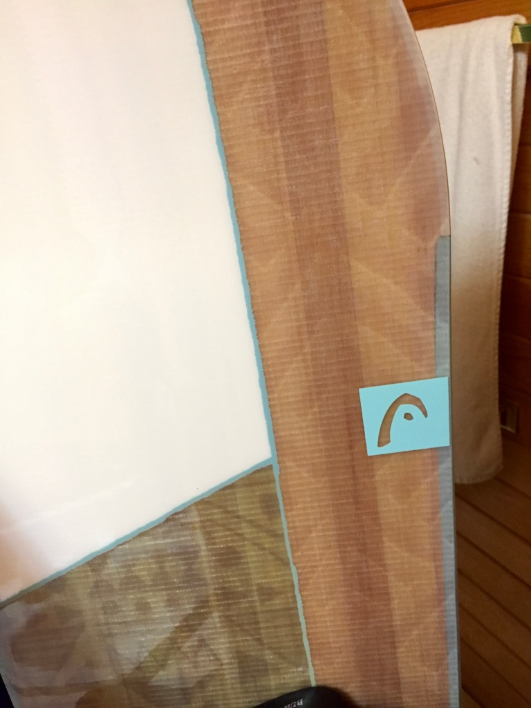 2018 - Head Shine Woman's Board - See the wood underneath the design!