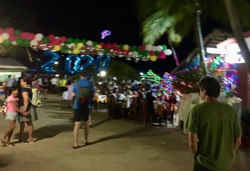 2019 - Huatulco, Mexico - New Year's Eve - Santa Cruz Beach