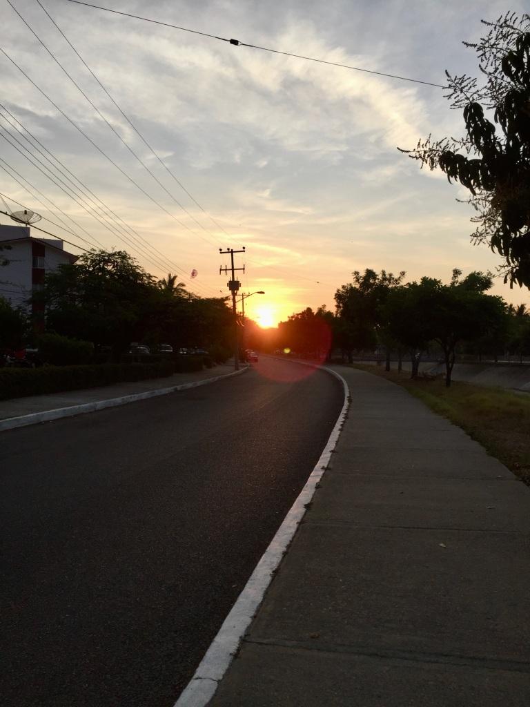 2020 - January 2nd - Huatulco, Mexico - La Crucecita - Morning run with Stephanie - Sunrise