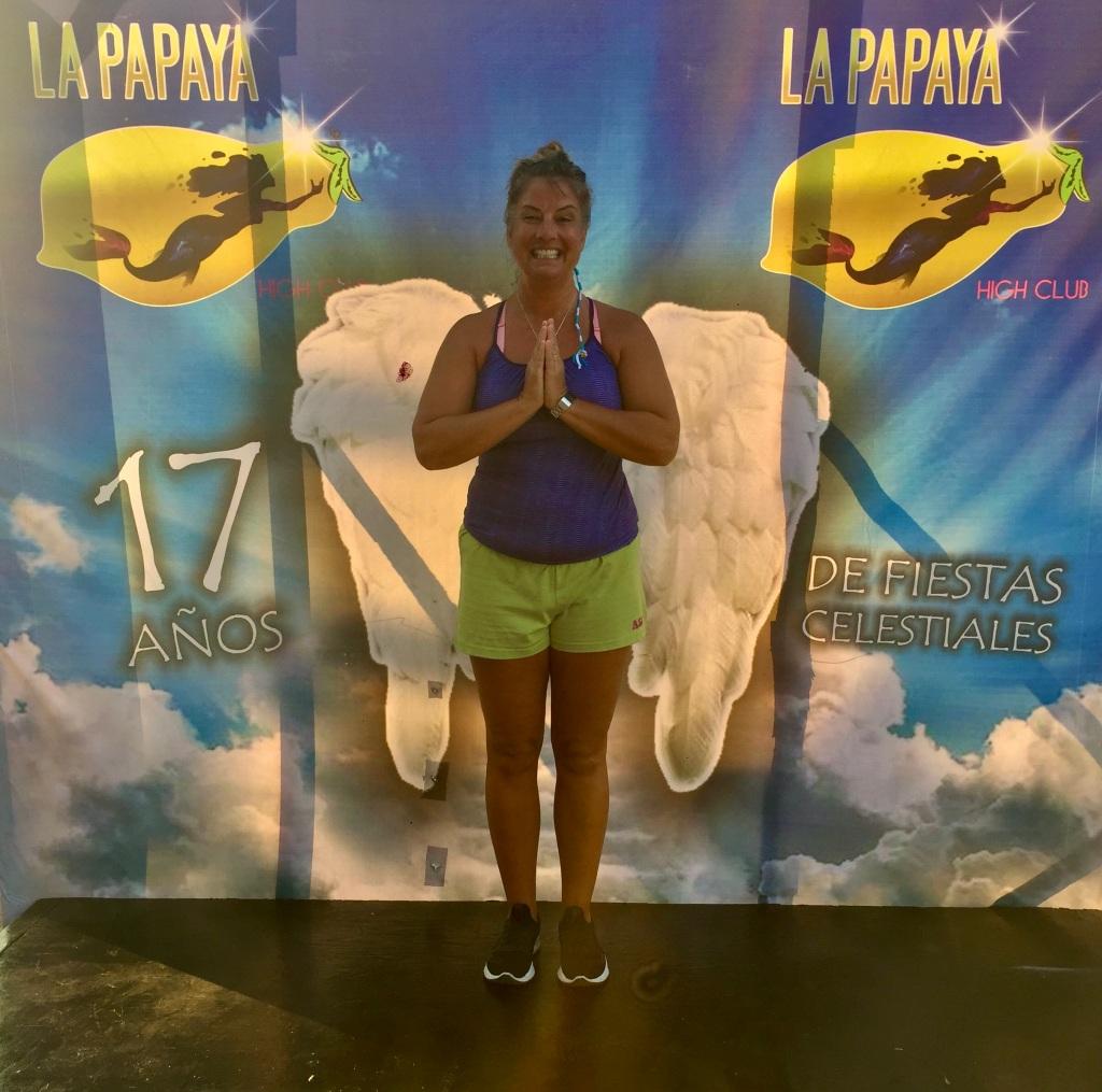 2020 - January 2nd - Huatulco, Mexico - La Crucecita - Morning run with Stephanie - La Papaya - Angel