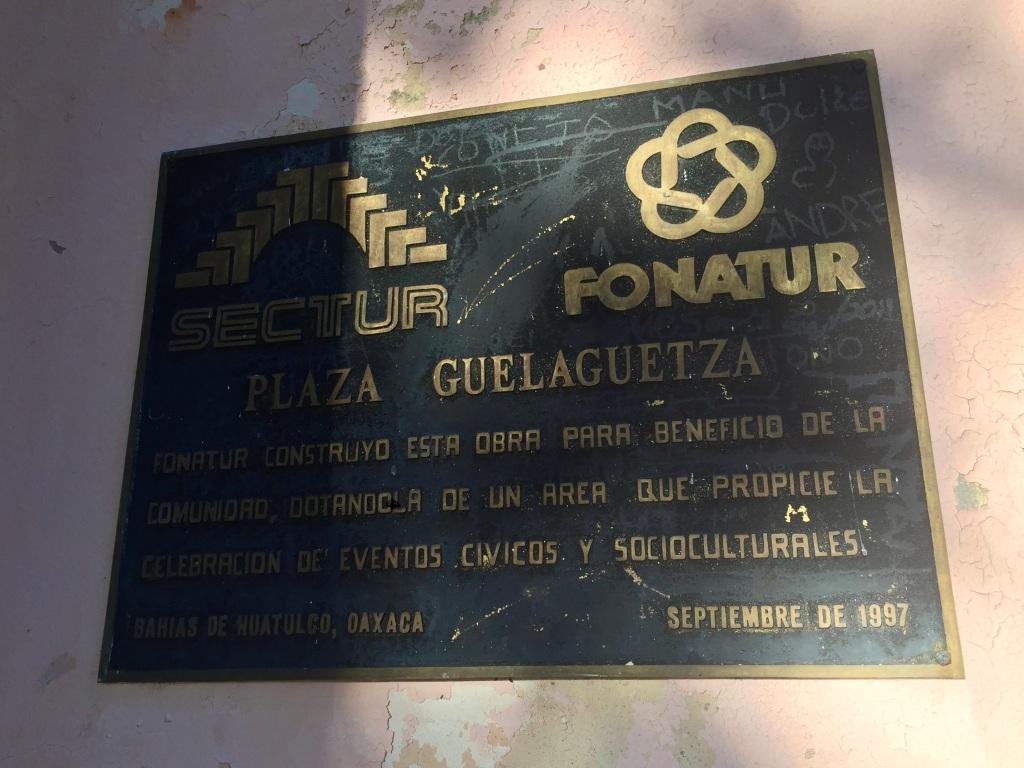 2020 - January 2nd - Huatulco, Mexico - La Crucecita - Morning run with Stephanie - Plaza Guelaguetza