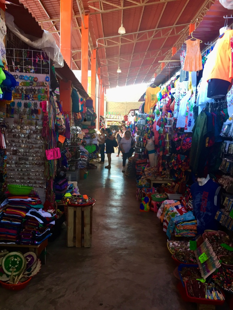 2020 - January 2nd - Huatulco, Mexico - La Crucecita - Indoor market