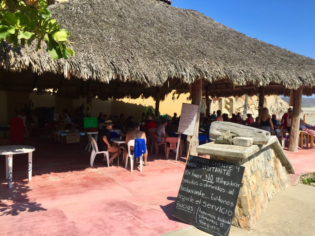 2020 - January 2nd - Huatulco, Mexico - La Bocana Beach - Los Güeros Restaurant