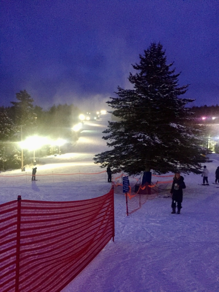 2020 - Martock Ski Hill - Windsor Forks, Nova Scotia - The night I practiced on my own