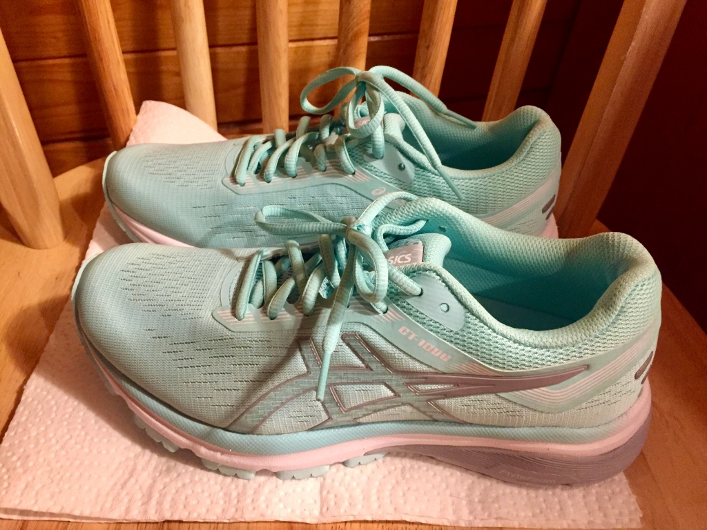 January - 2020 - Upper Vaughn - My new running sneakers!
