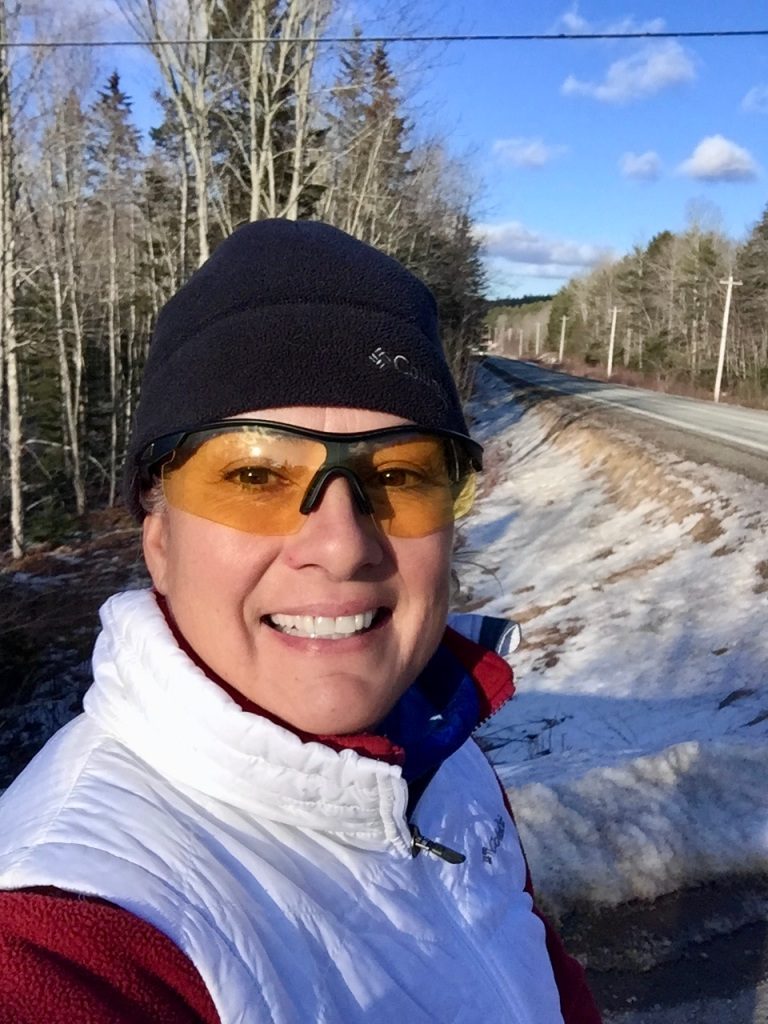 2020 - February - Monday afternoon run. My first time running my Highway 14 laps in the daylight!!