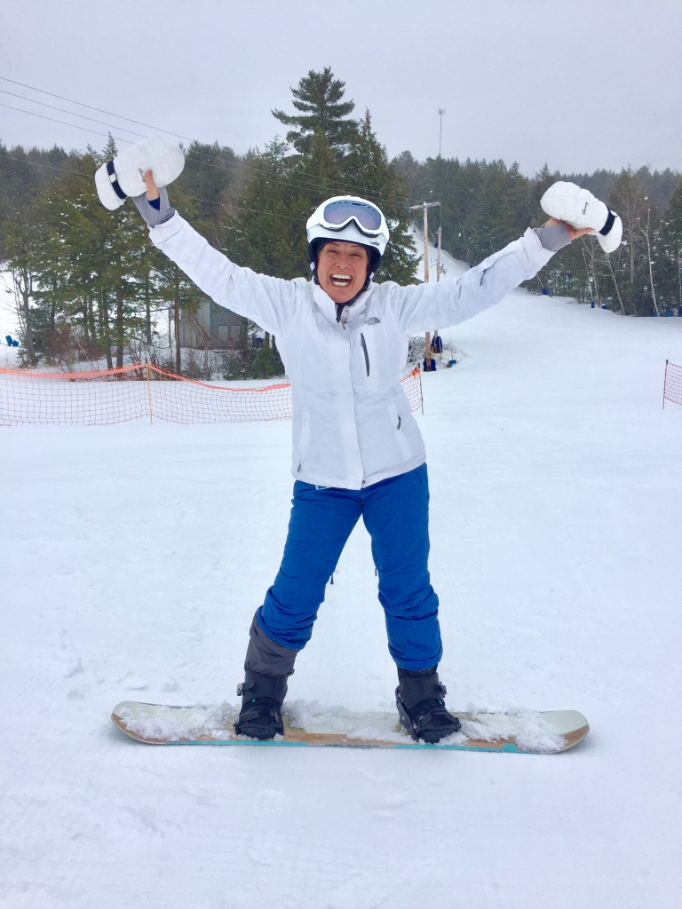 2020 - February - Ski Martock - Woohoo!!! I'm learning to snowboard!!!!