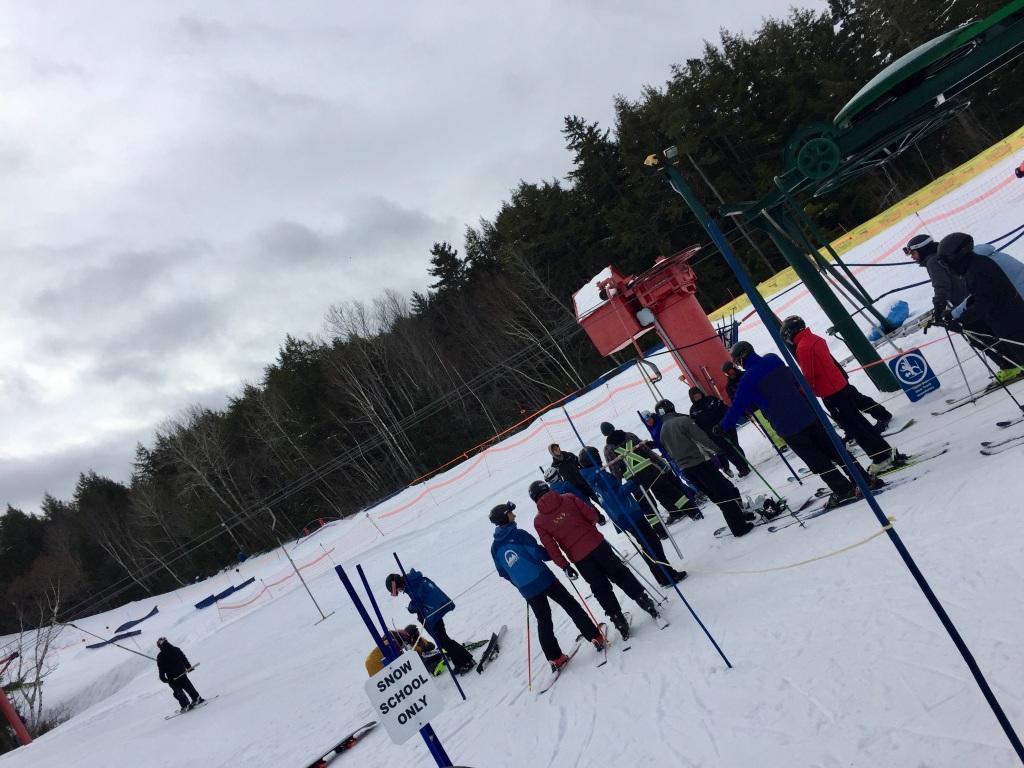 2020 - February - Martock Ski Hill - T-Bar