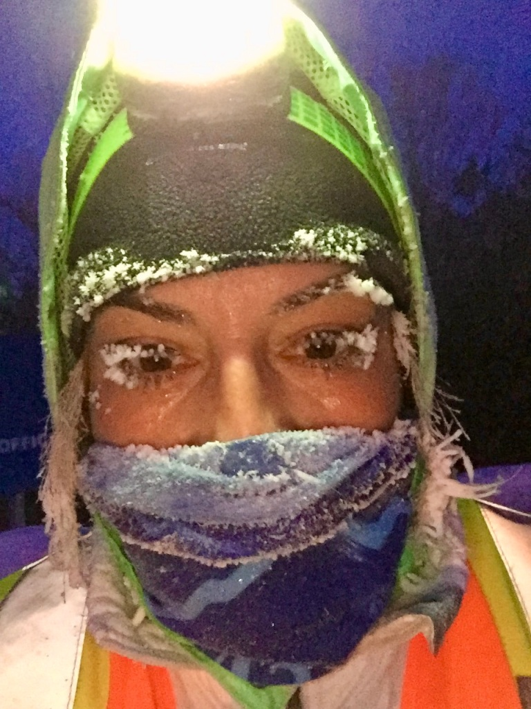 February - Friday - -20° Celsius run results!!!!!! WOOHOO!!!!!